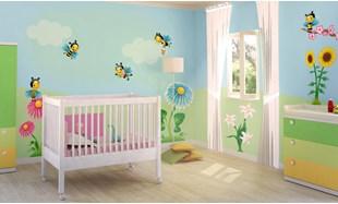Adesivi murali per bambini stickers per camerette leostickers - Decorazioni murali per camerette bambini ...